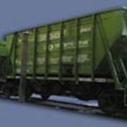 Перевозки грузовые железнодорожным транспортом в цементовозах. фото