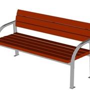 Садово-парковые скамейки фото