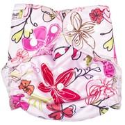 Многоразовый подгузник GlorYes! для плавания Цветы 3-18 кг фото