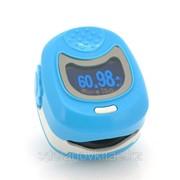 Пульсоксиметр для детей с дисплеем-OLED и перезаряжаемой батареей фото