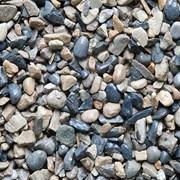 Речной гравий, ПГС фото