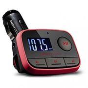 FM модулятор Energy Sistem Car FM-T Energy f2 Car MP3 Racing Red (FM-T Card reader USB-HOST Line-in) фото