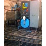 Установка по производству торфяных горшочков кассет фото