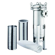 Фильтр механический высокой производительности мешочного типа BFH-1 фото