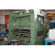 Листоправильная машина WMW 2000мм х 12мм (б.у.) фото