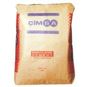 Цемент быстротвердеющий CIMSA ''CEM I 42,5 R'' без добавок (50кг) фото