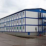 Модульное здание производственный цех фото