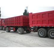 Прицеп LACQG18Z Двухосный 20 тонник