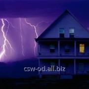 Молниеотвод фото