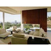 Услуги дизайна и интерьера дома в стиле фьюжин фото