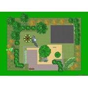 Дизайн проект благоустройства участка Планирование озеленения. фото