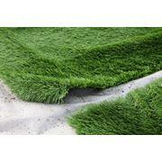 Установка искусственной травы Установка вазонов фото
