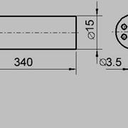 Изолятор трубка 7 канальная фото