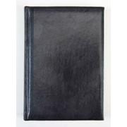 Ежедневник датированный Brunnen Оптимум Мадера, кожзам, А5 Черный фото