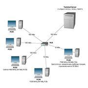 Монтаж обслуживание локальных сетей фото