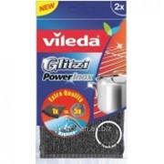 Спиральная губка Glitzi Power Inox Vileda 2шт фото