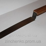 Нож для пасеки 200мм нерж. цельный закаленный фото