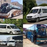 Аренда микроавтобусов и автобусов, доставка сотрудников фото