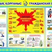 Изготовление Плакатов по ЧС, ГО и ПМП фото
