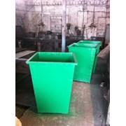 Мусорные баки, контейнеры ТБО, емкости для мусора, фото