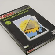 Пленка для ламинирования A4 100Л SIGMA фото