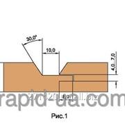 Фреза для обшивочной доски вагонки В=12…22 150х32х22х4 061.05.00.00.000 фото