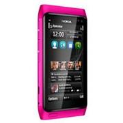 Nokia n8 pink фото