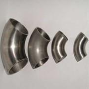 Отвод стальной оцинкованный Ду40 из ВГП (шовный) фото