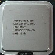Процессор CPU Celeron Dual-Core E1500 BX80557E1500 фото