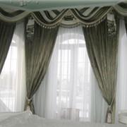 Пошив штор, ламбрекенов фото
