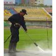 Услуги по гидродинамической очистке поверхностей гидробластинг фото