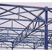 Изготовление металлоконструкций для зданий фото