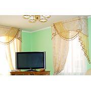 Индивидуальный пошив штор гардин ламбрекенов фото