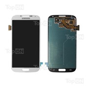 Матрица и тачскрин (сенсорное стекло) в сборе для смартфона Samsung Galaxy S4 GT-I9505, белый фото