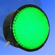 Noname Вкладыш зеленого свечения 200 мм питание 220В для лампового светофора арт. СцП23443 фото