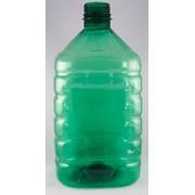 Бутыль 5 литров Зеленая фото