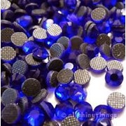 Стразы DMC hotfix Cobalt ss12 (3-3,2мм). 100шт фото