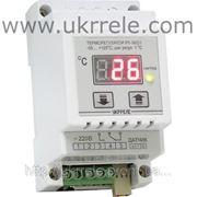 Терморегулятор для теплого пола, терморегулятор отопления, терморегулятор на DIN-рейку (16 А / 3 кВт) РТ-16/D1 фото