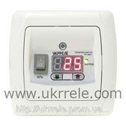 Терморегулятор для теплого пола, терморегулятор для скрытой проводки, терморегулятор комнатный (16А) РТ-16/Р1. фото