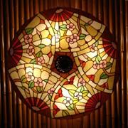 Витражные лампы и бра Тиффани фото