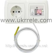 Термостат электронный для теплого пола, термостат комнатный (16А/3кВт) РТ-16/2Р1 фото