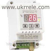 Цифровой терморегулятор (нагрев, охлаждение, -50...+125С, 16А/3кВт) РТУ-16/D фото