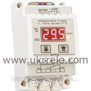 Мощный терморегулятор (40А/9кВт) РТ-40/D01 фото