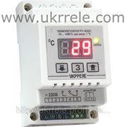 Терморегулятор высокотемпературный (10А/2кВт, 0...+500С, датчик Pt100) РТ-10/2D1 фото