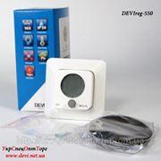 Терморегулятор Devireg 550 программируемый с интеллектуальным таймером фото