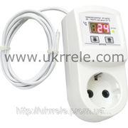 Терморегулятор для обогревателей, терморегулятор отопления (16А, 3кВт) РТ-16/П1 фото