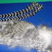 Натуральный мех кролика фото