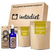 InstaDiet для похудения (жиросжигающий чай, коралловая вода и льняной кисель) фото