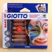Карандаши для грима GIOTTO Make Up 6 цветов фото