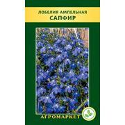 Семена цветов сорт Лобелия ампельная Сапфир. Опт фото